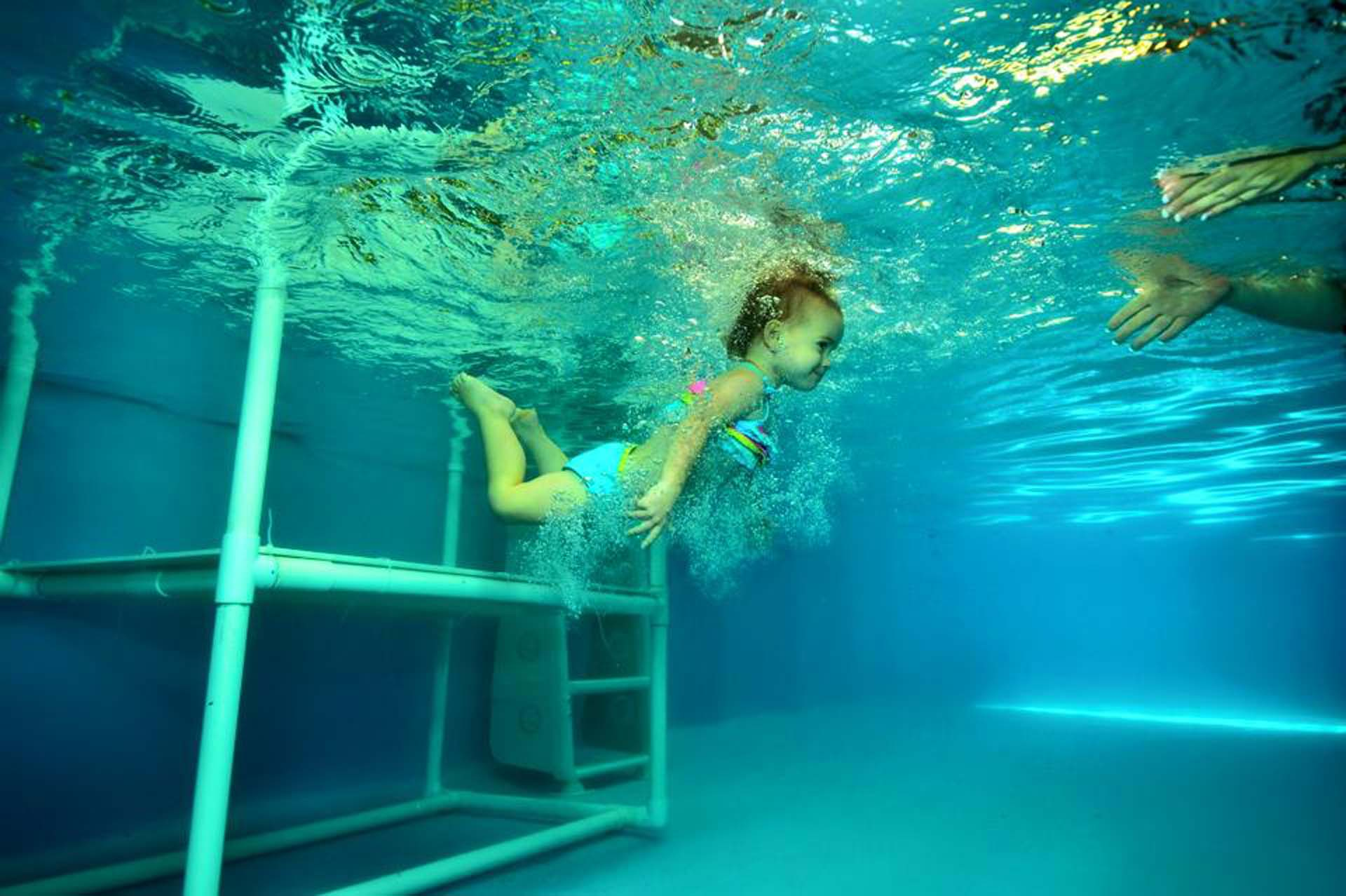 Airlie Beach Learn to Swim Classes for babies and toddlers