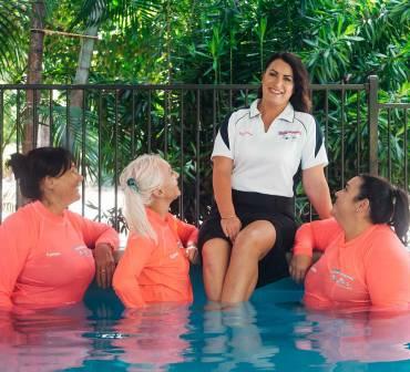 Awarded Australian Swim Teacher of the Year!